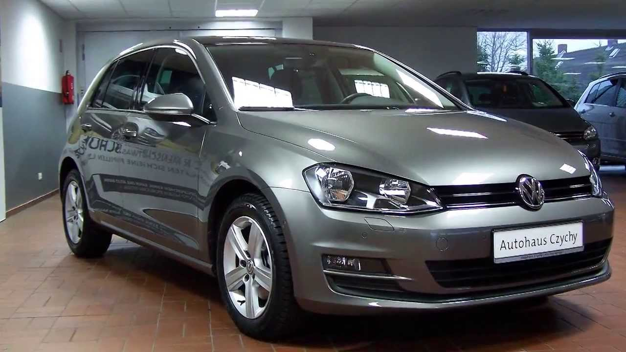 volkswagen golf vii 1 2 tsi comfortline dp072166 limestone grey autohaus czychy youtube. Black Bedroom Furniture Sets. Home Design Ideas