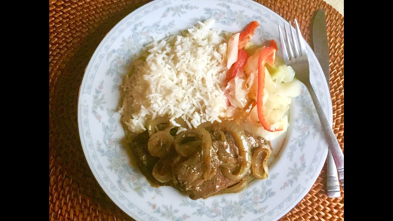 Jamaican-Style Liver and Onions Recipe (Very tender!) - Jamaican Videos