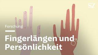 Was Fingerlängen über die Persönlichkeit verraten sollen