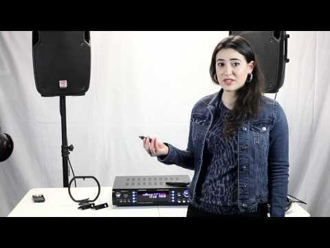 Rockville RPA6000UWM 1000 Watt 4 Channel Pro/Karaoke Amplifier & Mixer Demo/Review