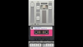 Magnetola - vintage cassette player app (iPhone & Mac), short demo