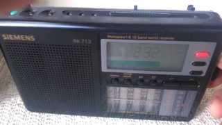 Test für Ebay : Siemens RK 713 10-Band Weltempfänger, Transistorradio