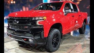 2019 Chevrolet Silverado Trail Boss FIRST LOOK