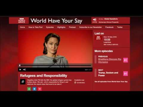 BBC World Have your Say, 16.05.2016