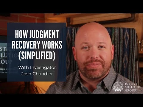 How Judgment Recovery Works - Find Bank Accounts And Hidden Assets