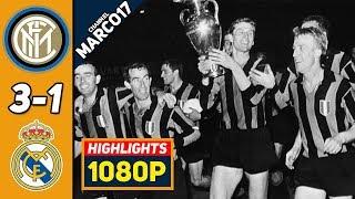 Интер Реал Мадрид 3 1 Обзор Матча Финал Лиги Чемпионов Кубка Чемпионов 27 05 1964 HD