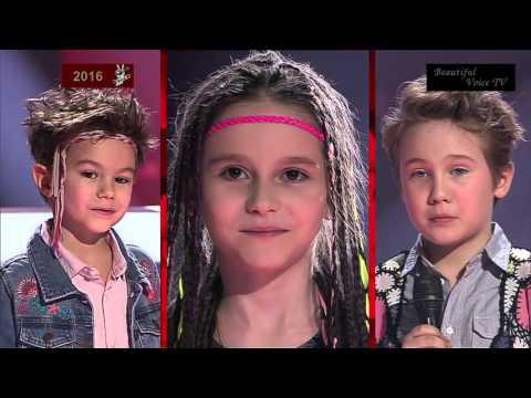 Veniamin/Anastasia/Vsevolod.'Imagine'(John Lennon).The Voice Kids Russia 2016.