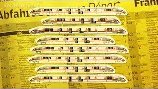 Zugverspätung: Hängt sie von der Gleis-Ansage ab? | Karambolage | ARTE