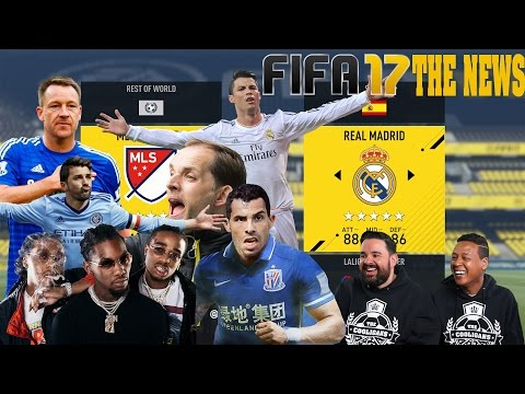 FIFA The News: MLS All- Stars vs Real Madrid + David Villa From Steph Curry Range