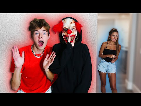 SCARY PRANKS ON MY FRIENDS FOR 24HRS!!