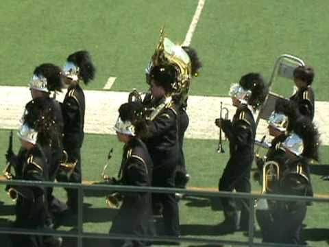 Malakoff High School Tiger Band - Mesquite Marching Festival 10-02-10