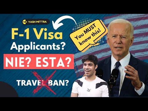 F-1 Visa: Travel without a visa? NIE, ESTA, Eligibility?