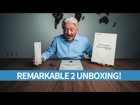 REMARKABLE 2 UNBOXING & REVIEW!! (FINALLY!)