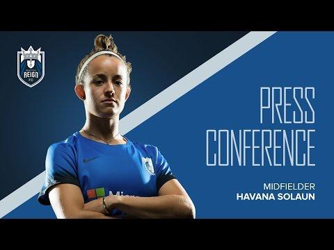 Post-Match Press Conference: Havana Solaun // Seattle Reign FC