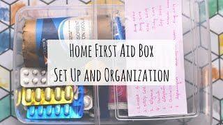 Home First Aid Box Organization and Setup | How to Organize Home First Aid Box | Saloni Srivastava