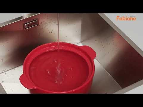 Смесители для кухни Fabiano из нержавеющей стали Santehimport Ua