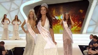 Kiss Daniella crowned Miss World Hungary 2015
