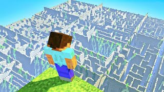 First Person to Escape this Minecraft Maze Wins $1,000! (Challenge)