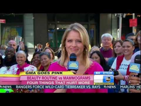 Sara Haines - high heel shopping close ups - Good Morning America