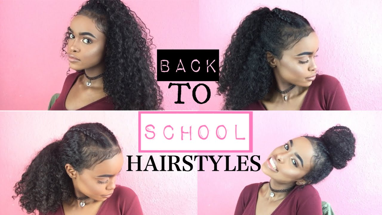 Back To School Hairstyles For Curly Hair Halssa
