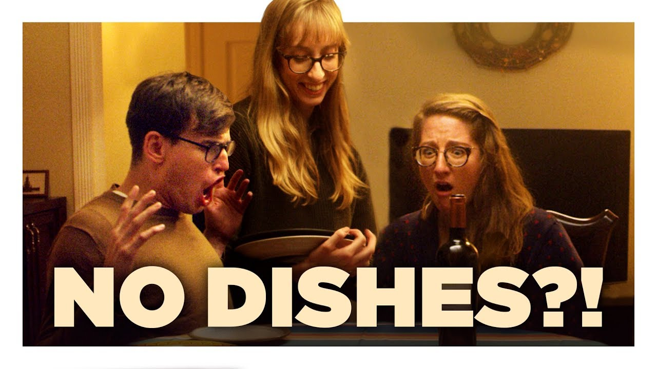 Not Enough Dishes for Friendsgiving
