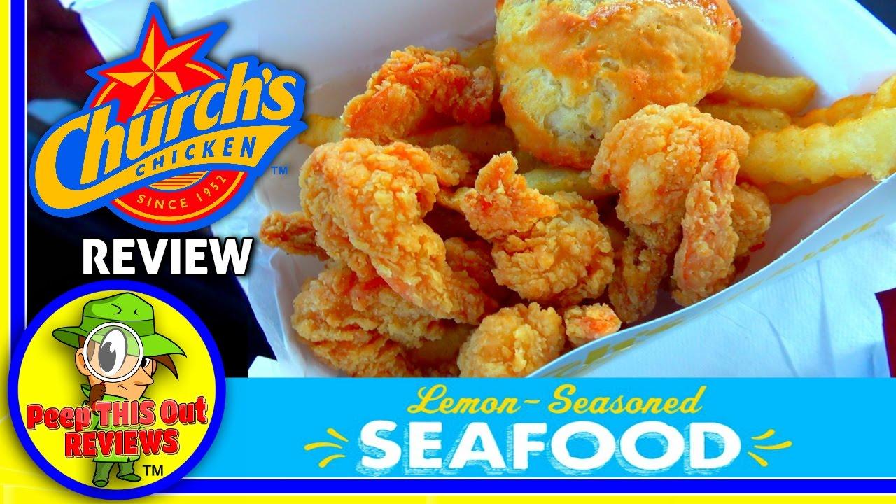 church's chicken® | lemon-seasoned butterfly shrimp review