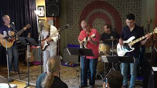 Steve,Nic,Bill,Bob,John Performing Dimples Main Street Music and Art Studio