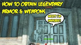 Fallout 4: How To Find Chameleon Armor (Like Chinese Stealth Suit) & Other Legendary Weapons/Armors