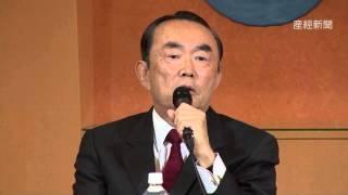 太陽の党の石原慎太郎共同代表と減税日本代表の河村たかし名古屋市長は...