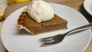 Whip Up A Quick And Easy Pumpkin Pie (libby's Recipe)