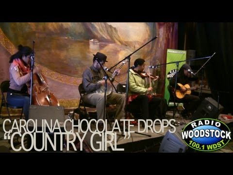 "Carolina Chocolate Drops - ""Country Girl"" - Radio Woodstock 100.1 - 3/6/12"
