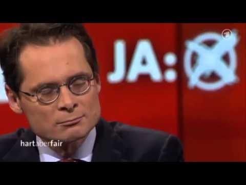 Roger Köppel gibt Ralf Stegner (SPD) eine Lektion in Sachen Demokratie - Hart aber Fair