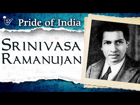Srinivasa Ramanujan | Famous Indian Mathematician | Pride Of India