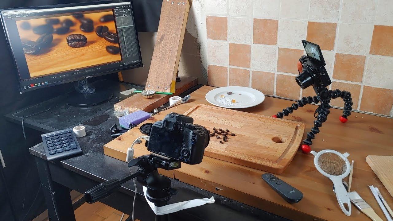 Behind the Scenes of Stop Motion Cooking - Coffee Bean