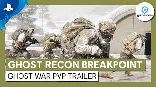 Ghost Recon Breakpoint | Ghost War PvP Trailer | PS4