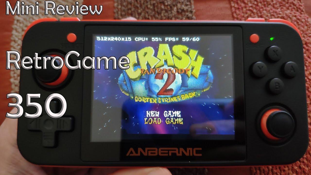 Mini Review Retrogame 350 Con Procesador Mips Jz4770