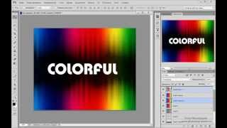 Урок Adobe Photoshop #14 | Красочные обои