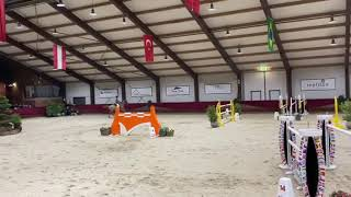 Salto Des Nauves clear jump off and placed 6th In 145** GP Peelbergen