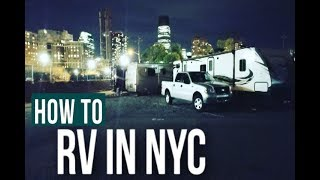 HOW TO RV IN NEW YORK CITY WITH KIDS // Travel Nurse Family [FULL TIME RV WITH KIDS] Ep 25