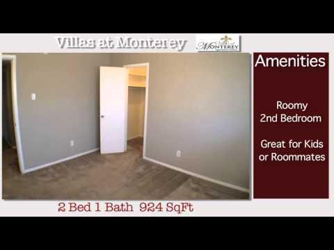 Villas at Monterey Apartment Homes.2, Dallas, TX, 2Bed 1Bath - YouTube