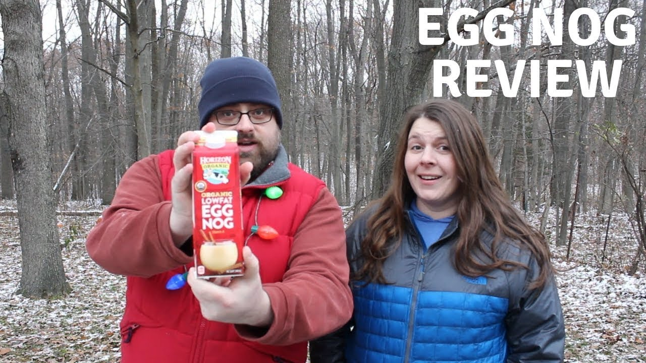 Horizon Organic Limited Edition Egg Nog Review Sip Review Beverage 5 Youtube