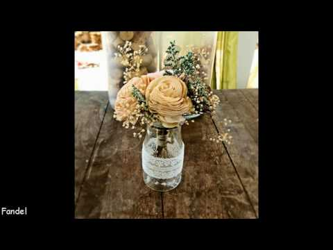 DIY Vintage Wedding Table Decorating Ideas