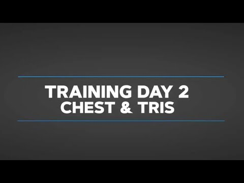 Gethin's Beginner Daily Video Trainer: Day 2 Chest And Triceps
