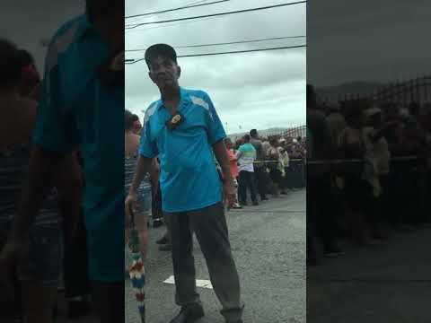 FEMA application line in Yabucoa Puerto Rico
