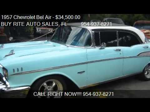 1957 Chevrolet Bel Air HARD TOP - for sale in FT LAUDERDALE,