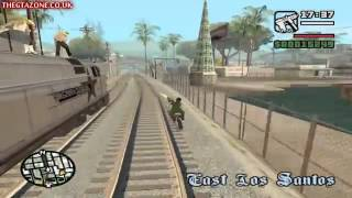 GTA San Andreas Mission 17 Wrong side of the Track