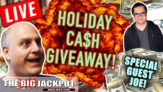 Weekly Update and Holiday App Cash Giveaway with Special Guest Joe