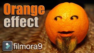 Annoying Orange Effect - Filmora Effects Tutorial