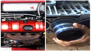 تعلم تجميع محرك سيارة بنزين - comment Assembler un moteur de voiture  essence