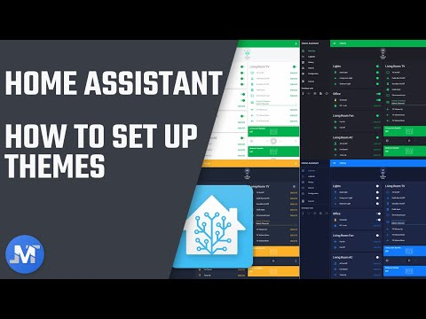 How to set up themes in Home Assistant • JuanMTech